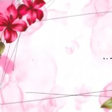 粉色简约素材