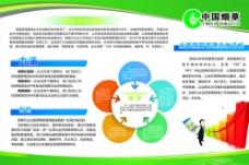 中国烟草预算管理展板图片