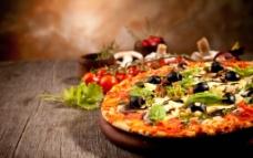 披萨饼图片