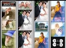 人像照片转复古老照片效果调色动作