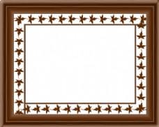 中式实木相框