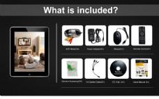 国外网站电商电器配件套装排版组合图