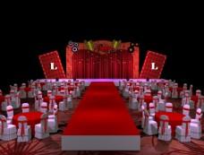 百老汇胶片主题婚礼