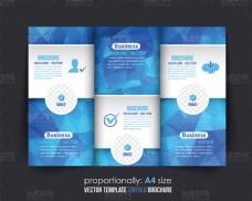 精美时尚画册单页设计矢量素材