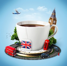 英国咖啡创意