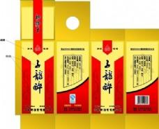 酒品包装 包装模板 矢量素材 CDR格式_0013