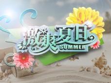 激爽夏日宣传海报