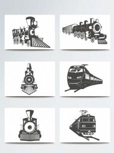 火车矢量素材