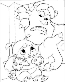 迪斯尼绘画人物 卡通人物 怪兽 矢量素材 ai格式_08