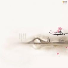 中国风古典唯美江南水乡图片