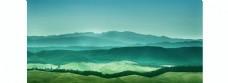 山河辽阔背景图