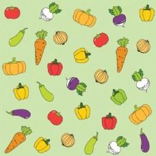 健康的蔬菜背景