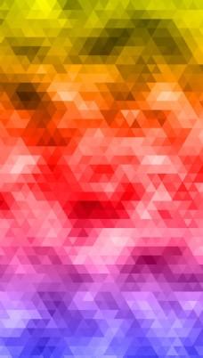 彩色菱形背景