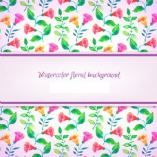 彩色花朵花纹背景素材