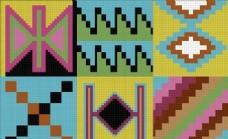 全球花纹图案 底纹背景 分层素材 PSD源文件_0063