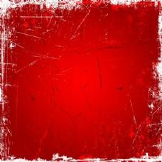 红色的垃圾背景