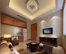 室内整体模型效果图图片