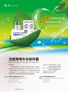 医疗药物宣传单页广告