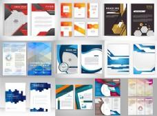 折页单页设计矢量素材
