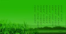 茶庄形象墙背景