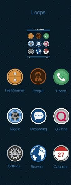 iso7手机界面图片_app界面_ui界面设计_图行天下图库