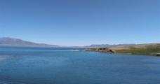 湖的远景图片