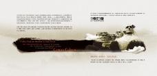 PSD中国风水墨画册封面素材下载