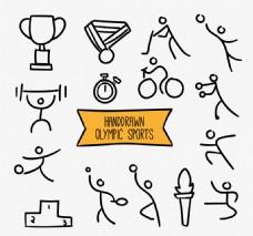 奥林匹克运动的草图