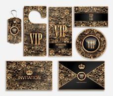 金色艺术时尚VIP会员卡