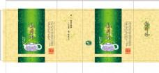 龙井茶 茶叶包装 平面图图片