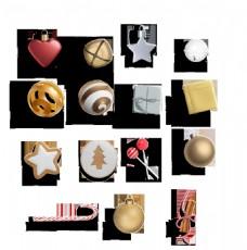 各种节日小装饰用品透明装饰素材
