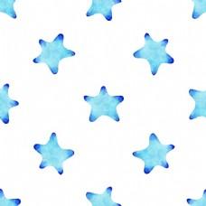 蓝色布满星星图片素材