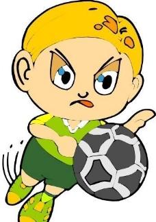 漫画儿童 卡通人物 矢量 CDR_0103