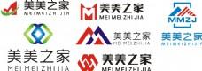 M字母公司logo设计素材
