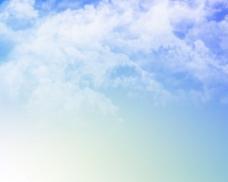 唯美的清新天空背景图片
