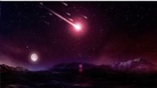 淘宝宇宙星球大背景psd5