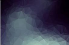 酷炫 晶格化 曲线抽象几何体海报背景
