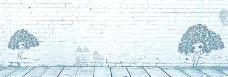 手绘卡通墙背景