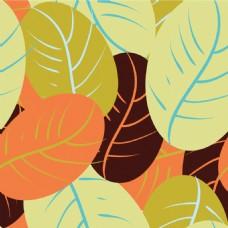 简约纹理树叶背景