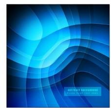 时尚闪亮的蓝色背景图片