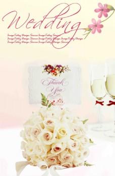 婚禮婚卡婚紗高清背景素材