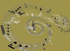 矢量海报音乐背景图片
