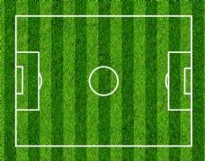 足球场场地平面图