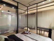 质朴简洁卧室效果图