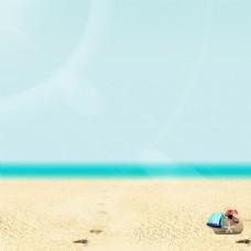 海边背景主图