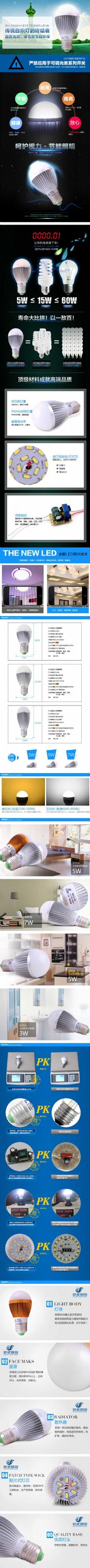 环保节能照明灯具描述