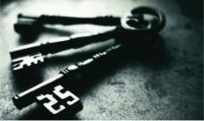 企业文化画册钥匙psd