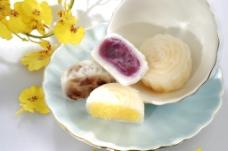 紫薯馅月饼图片