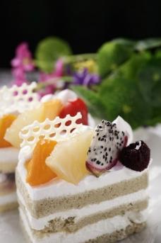 美食奶油蛋糕图片