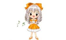可爱女孩唱歌flash动画